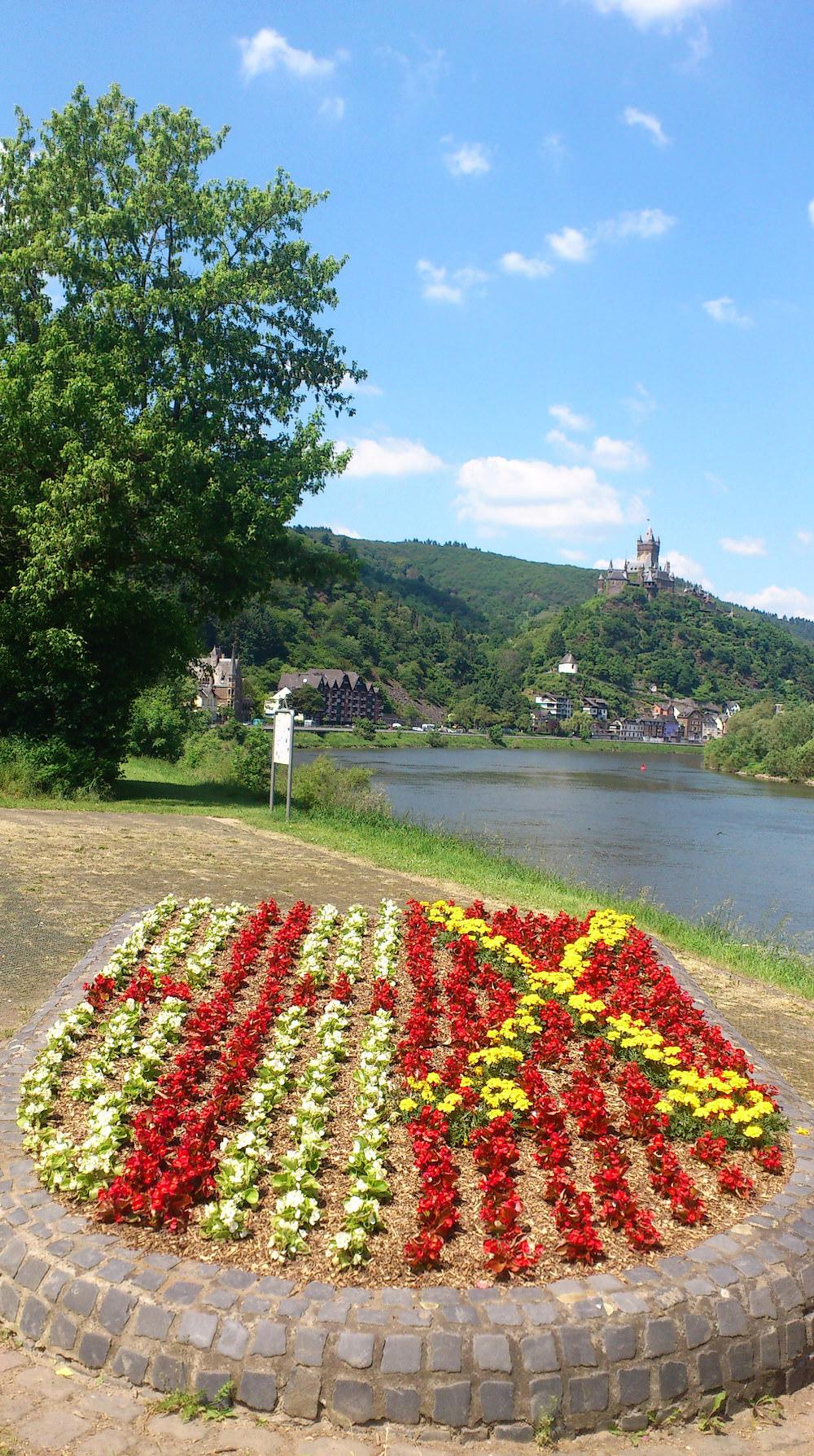 Cochem, Entree, Burg1